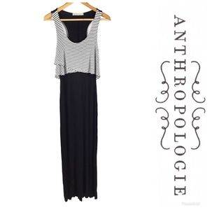ANTHROPOLOGIE Everleigh Maxi Dress Sz S